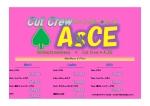 Cut Crew. ACE