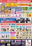 金銀堂北浦和東口店6月広告